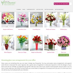 Glass Vase arrangements Archives - FNP Corporate