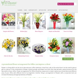Flower Arrangements for office Archives - FNP Corporate