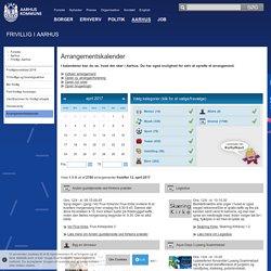 Arrangementskalender: Aarhus Kommune