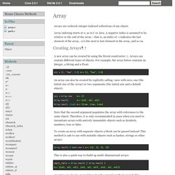 Array (Ruby 2.3.1)