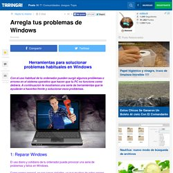 Arregla tus problemas de Windows