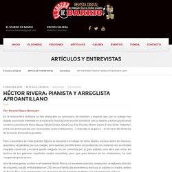 HÉCTOR RIVERA: PIANISTA Y ARREGLISTA AFROANTILLANO