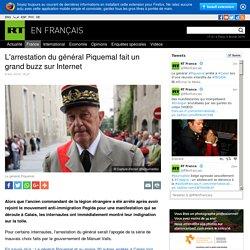 L'arrestation du général Piquemal fait un grand buzz sur Internet