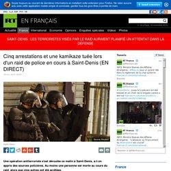 SAINT DENIS : Les terrorristes visés par le raid auraient planifié un attentat dans la défense.