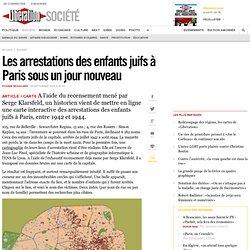 Les arrestations des enfants juifs à Paris sous unjournouveau
