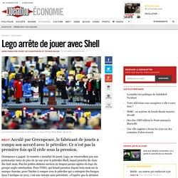 Lego arrête de jouer avecShell