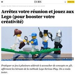 Arrêtez votre réunion et jouez aux Lego (pour booster votre créativité) - 17 juin 2015