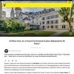 Arrêtez tout, on a trouvé la terrasse la plus dépaysante de Paris !