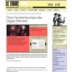 Nègre littéraire (Le-Tigre)
