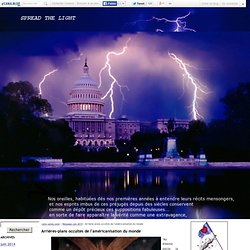 Arrières-plans occultes de l'américanisation du monde