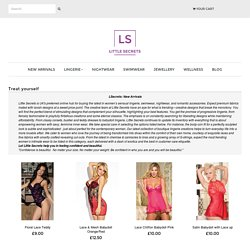 New Arrivals for Lingerie, Nightwear & Swimwear