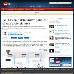 Le Li-Fi haut débit arrive pour les clients professionnels - ZDNet