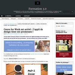 Canva for Work est arrivé : l'appli de design tient ses promesses ! – Formation 3.0