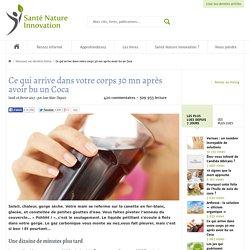 Coca cola et santé naturelle - Santé Nature Innvation