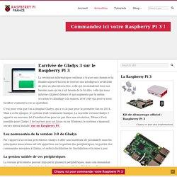 L'arrivée de Gladys 3 sur le Raspberry Pi 3
