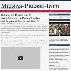 Qui sont les 18 ados du 12e arrondissement de Paris qui portent plainte pour violences policières ?