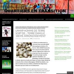 L'AMAP Homme de Terre sort de… terre dans le 18ème arrondissement