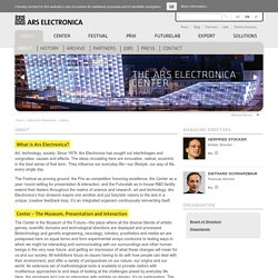 About Ars Electronica