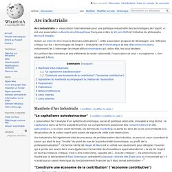 Ars industrialis