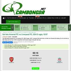 Soi kèo Arsenal FC vs Liverpool FC, 02h15 ngày 16/07