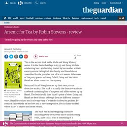 Arsenic for Tea by Robin Stevens - review