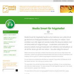 Årskurs 7-9 - Media Smart