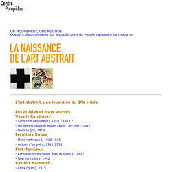 SITE Centre Beaubourg : Art Abstrait