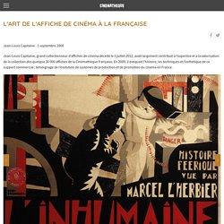 L'Art de l'affiche de cinéma à la française