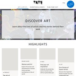 Tate Collection: British art and international modern and contemporary art