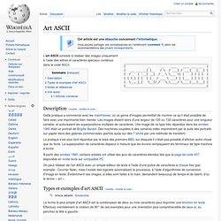 Art ASCII