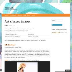 Art classes in 2014