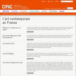 L'art contemporain en France - CIPAC