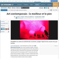 Culture : Art contemporain : le meilleur et le pire