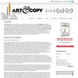Art & Copy Film / Synopsis