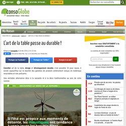 L'art de la table passe au durable !