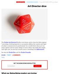 Art Director dice
