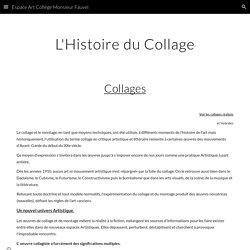 L' Art du Collage - espace-art-college