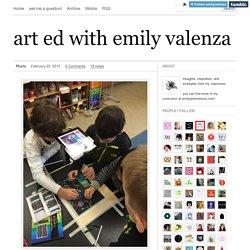 art ed with emily valenza