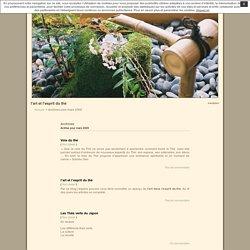 l'art et l'esprit du thé » 2009 » mars