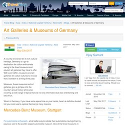 Art Galleries & Museums of Germany