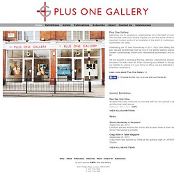 Art Gallery |Plus One Gallery |London