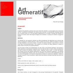 Art génératif
