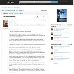 L'art a-t-il un genre ?. - Net Art - harmonie des arts sur Viadeo.com