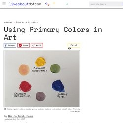 Art Glossary: Primary Colors