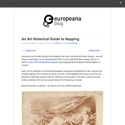 An Art Historical Guide to Napping
