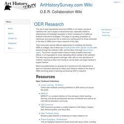 Art History OER Wiki