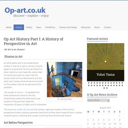 Op Art History Part 1 - History of Perspective