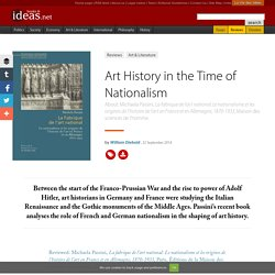 Art History in the Time of Nationalism