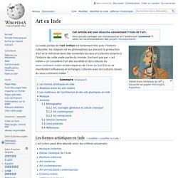 Art en Inde