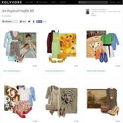 Art Inspired Outfits III